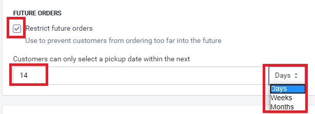 future orders